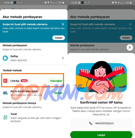 Linkaja di Gojek