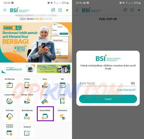 Cara Top Up ShopeePay Lewat BSI Mobile, Batas Minimal dan Biaya Admin