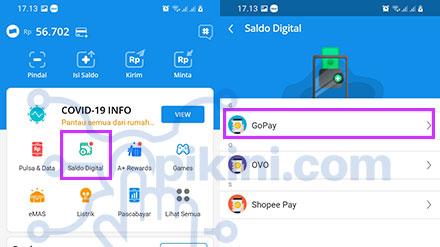 Cara Top Up GoPay Lewat DANA Terbaru