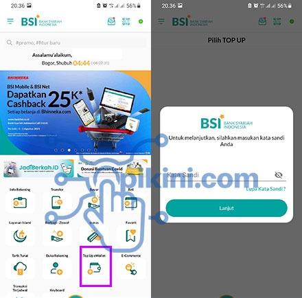 Cara Top Up OVO Lewat BSI Mobile 2021
