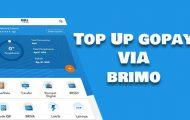 Top Up GoPay Lewat BRImo Biaya dan Batas Minimal